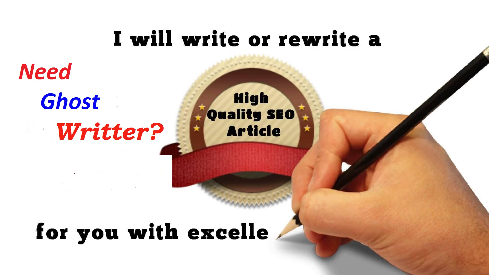 SEO Article Freelance Writer - I Will Be Your SEO Article Ghost Writer For Blog Or Website Post - Hurry Order Now Limited Time OFFER