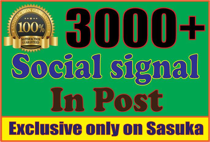 3,200 PR9 Social Signals Monster Pack from the BEST Social Media website