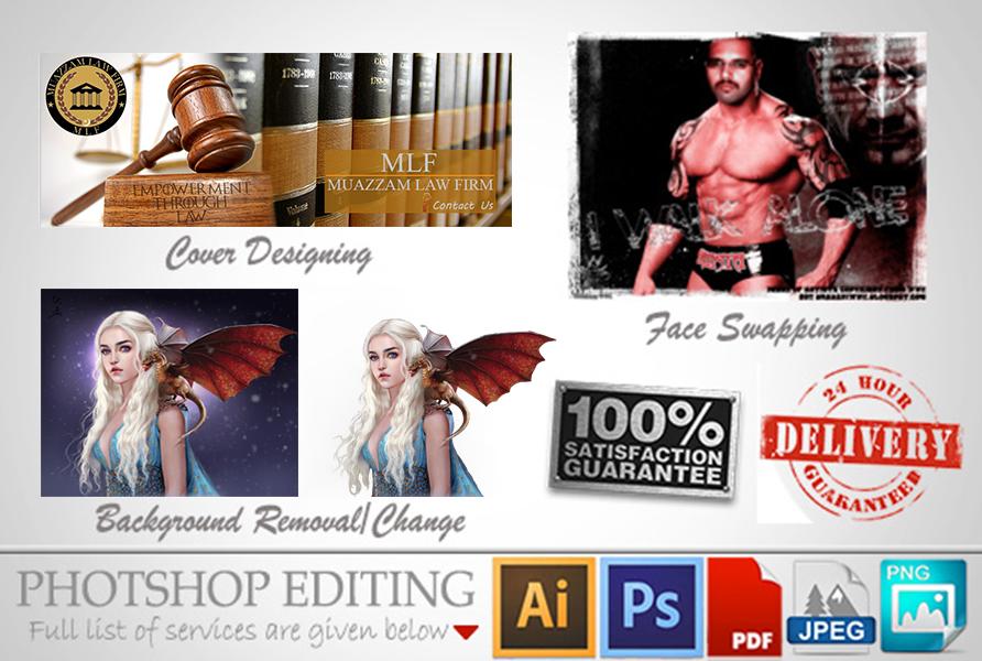 High Quality Photoshop Editing