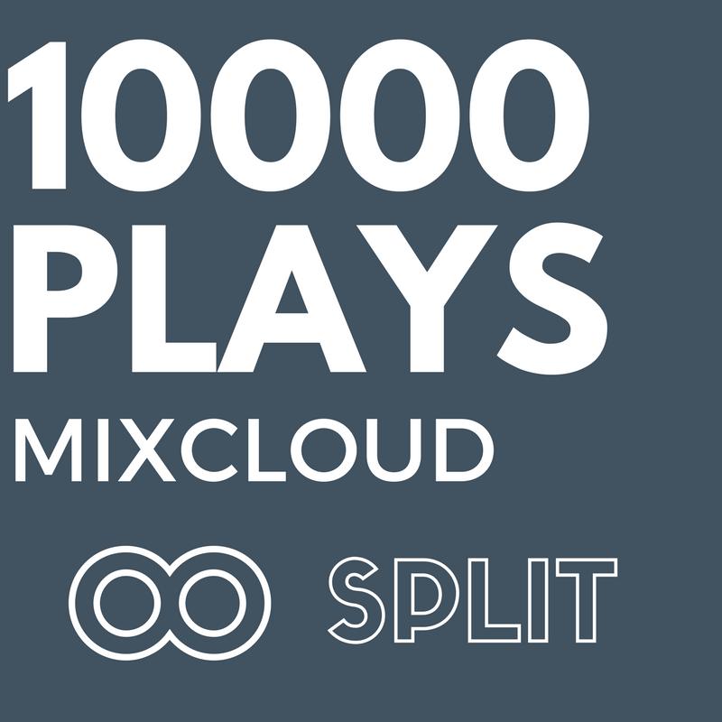 10,000 MixCloud Play/s