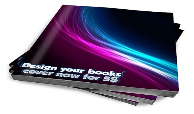 ​Design you a  book cover 3D