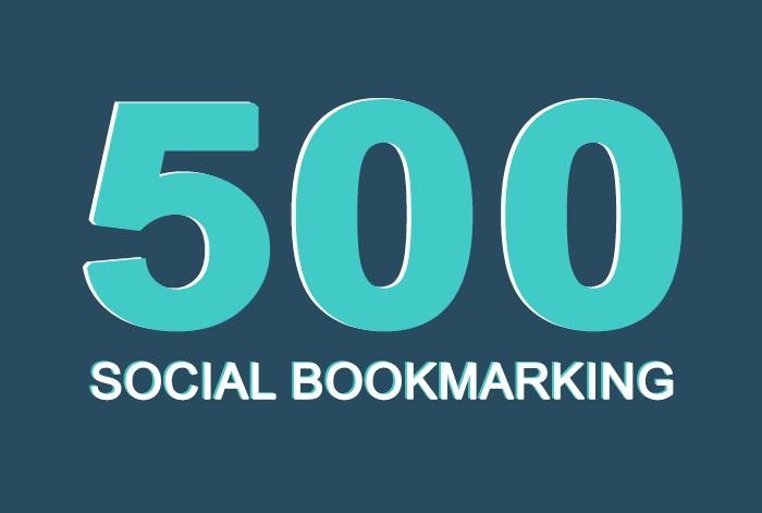 Add 500+ SEO social bookmarking high quality backlinks, rss and ping