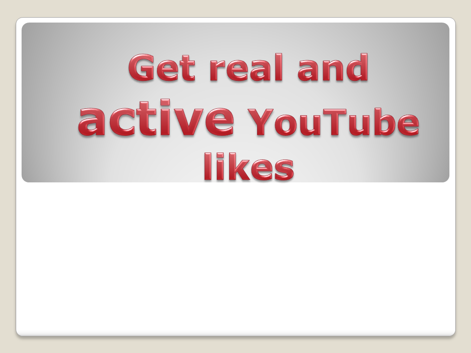 Provide you real 200+ YouTube Video Likes