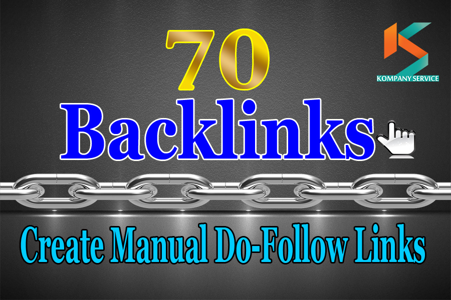 Submit 70 Exclusive High Pa Da Dofollow Backlink
