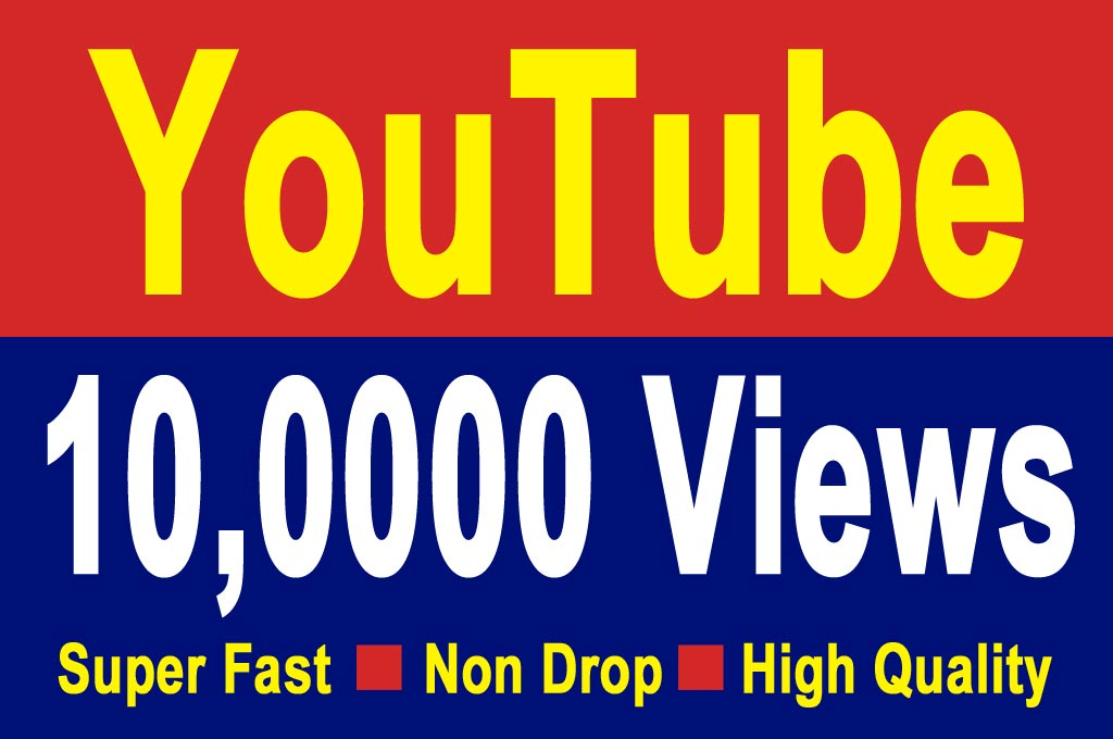 10,000 YT  views Non Drop guaranteed