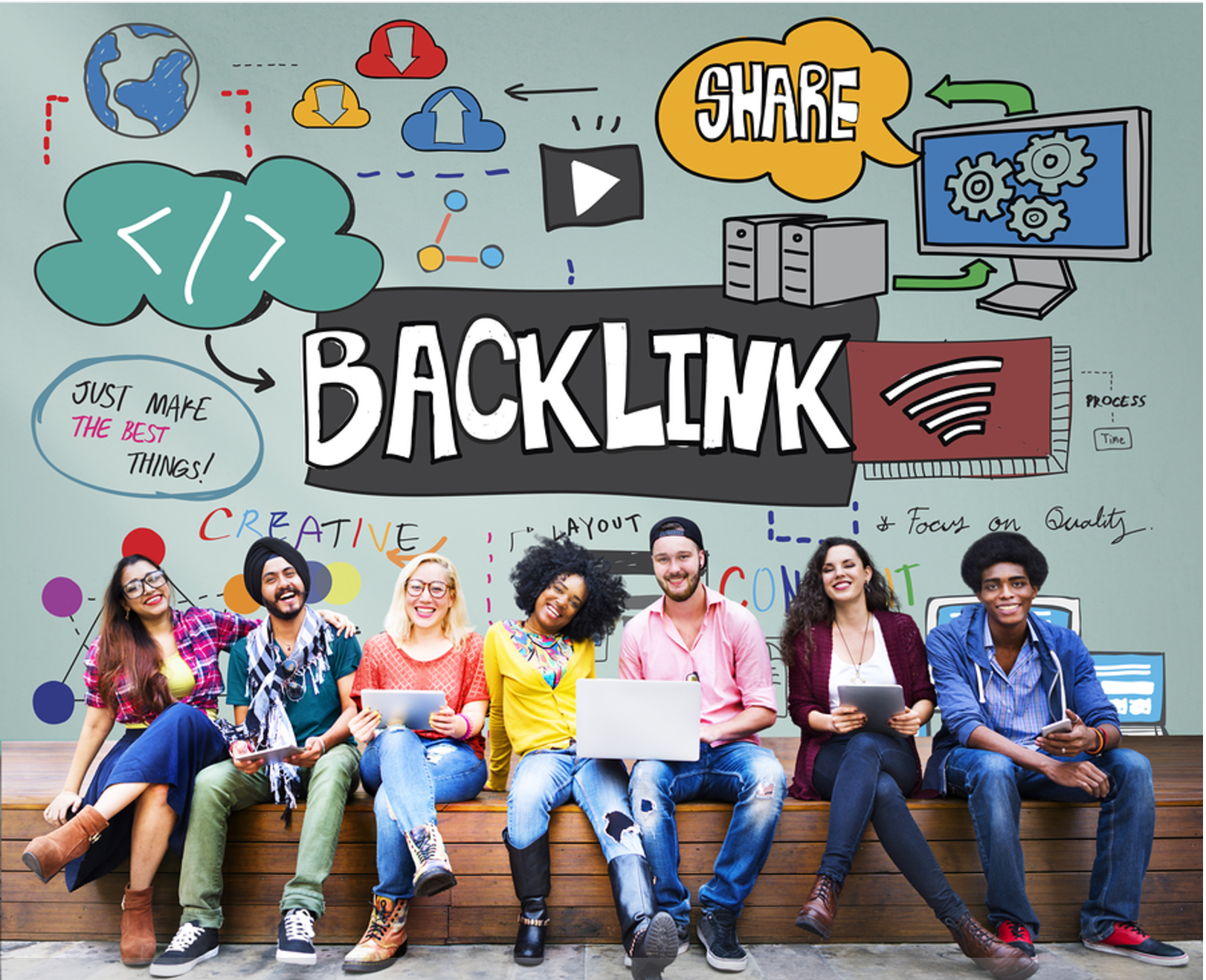 Diversify SEO - 100+ High PR Backlinks DA 30 to DA 90