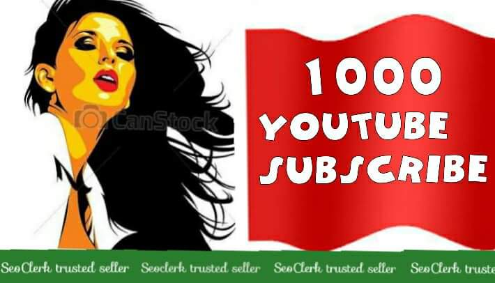 1000+Real YouTube Subs cribe Channel Promote 12-24 Hours