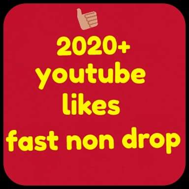 2020+Youtube likes very fast
