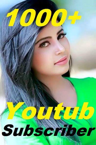 1000+ Youtube Channel subscrib ers  Non Drop Or 400+ You tube custom comme nts or 1800 you tube lik es