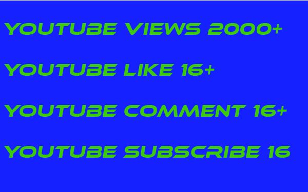 1000 youtube views  non drop