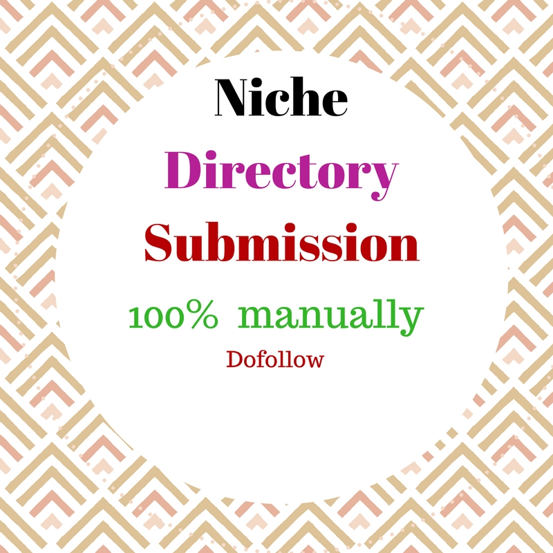 do 70 niche directories submission 100 percent manually