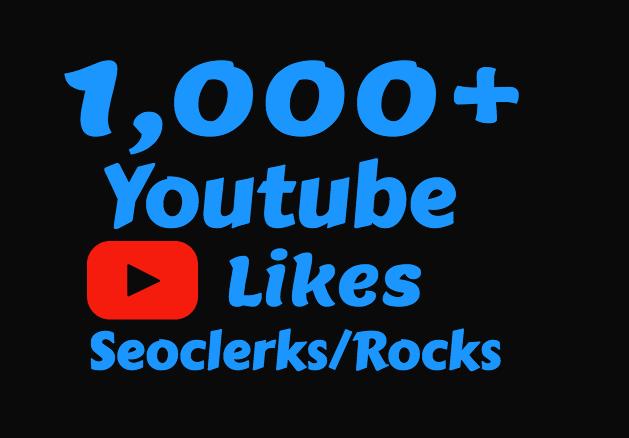 1000 Real Youtube Likes