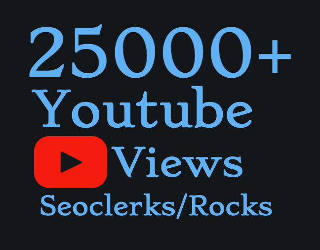 I will add Super Fast 6000-7000 High Quality Youtube Views