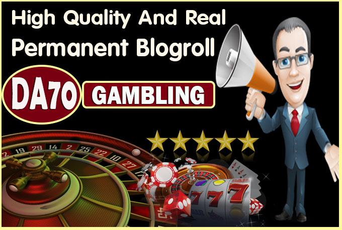 give link DA70x10 site Gambling blogroll permanent
