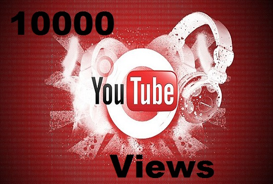 Give you 10000 YouTube VlEWS in 24 hour