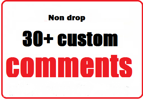 30+ video Custom Comments with profile picture very fast