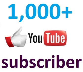 Instant 1,000+Youtbe channel subcriber non drop 2-4 hour in complete