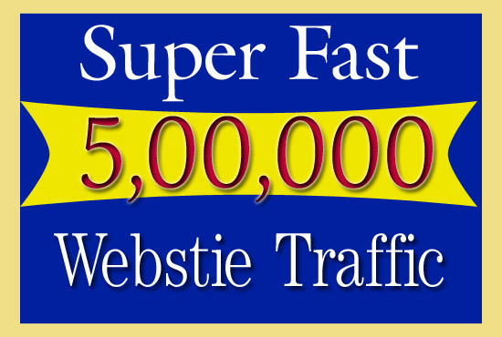 Drive Real 5, 00,000 Website Traffic From Social Media For 30 Days
