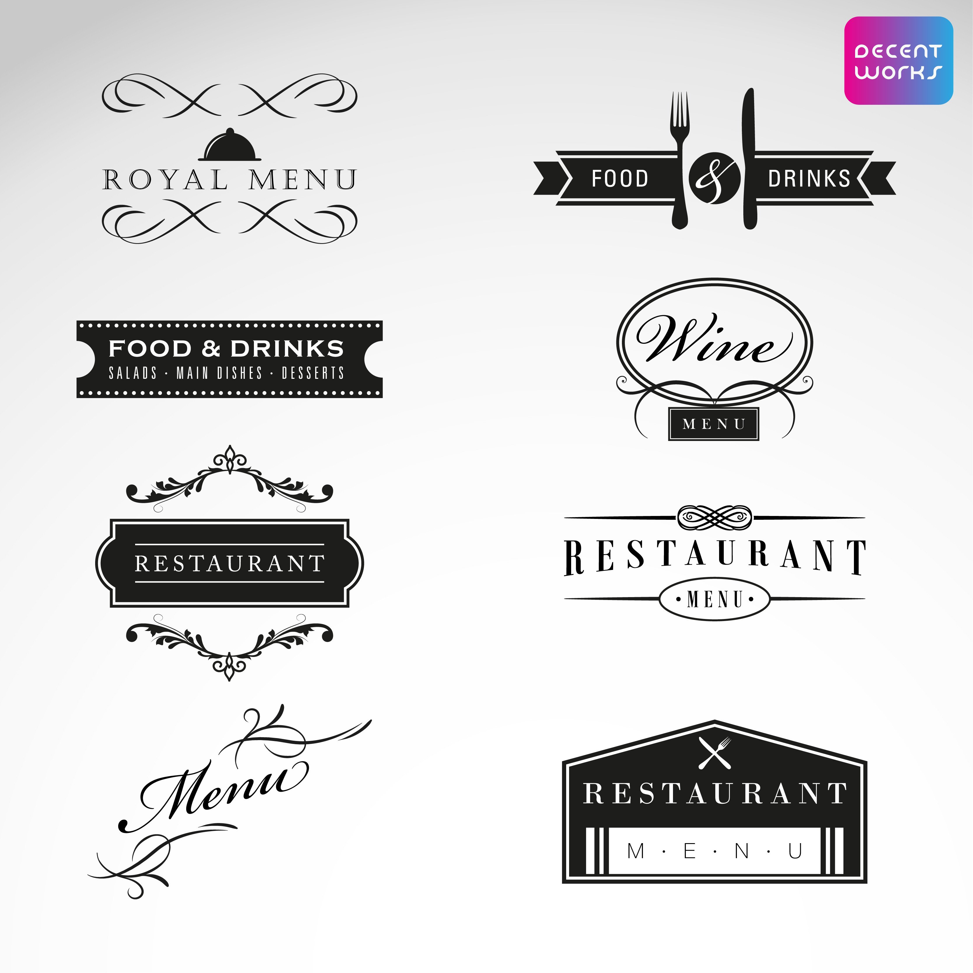 4 logo with business card High quality & Transparent background in 24 hours,  Free vector files,  unlimited Revesion.