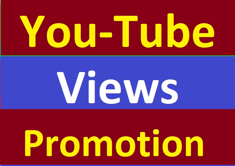 YouTube Video Promotion Seo Marketing Within 48 Hours Delivery