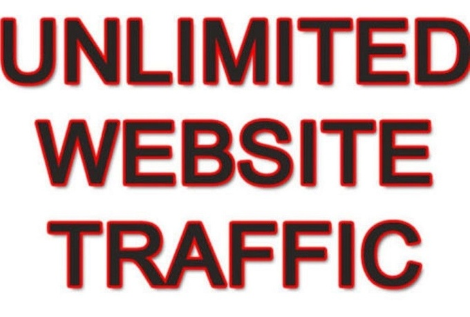 UNLIMITED Traffic Real Visitors for 10 days
