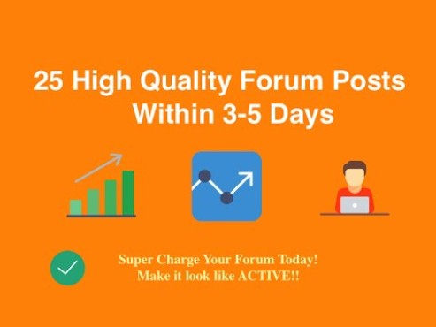 Top Sites Forum Posting and Link Building