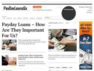 I will post your blog post on my high quality DA48 Finance blog