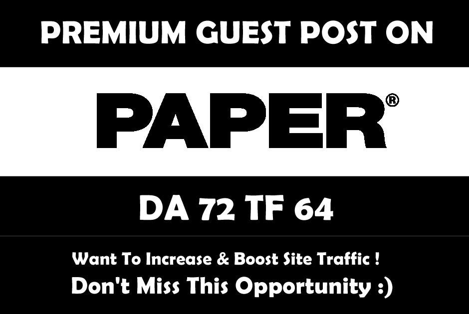 Publish A Guest Post on Below Websites