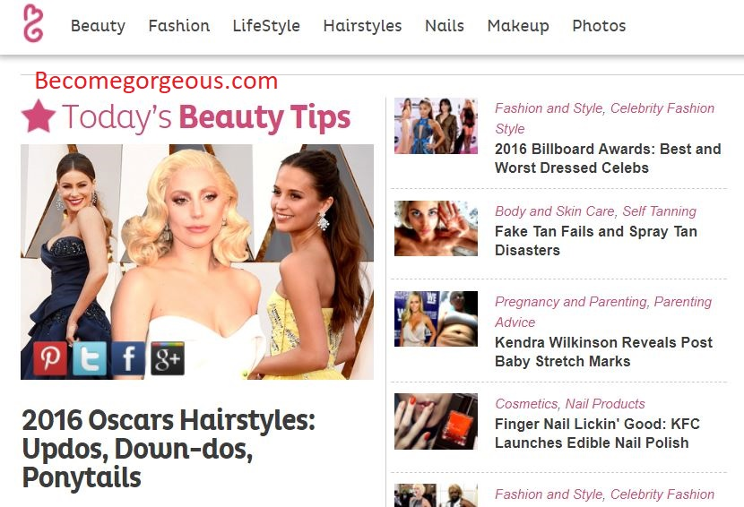 Publish Guest Post On Becomegorgeous. com