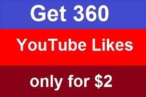 I'll provide you real 360 YouTube likes