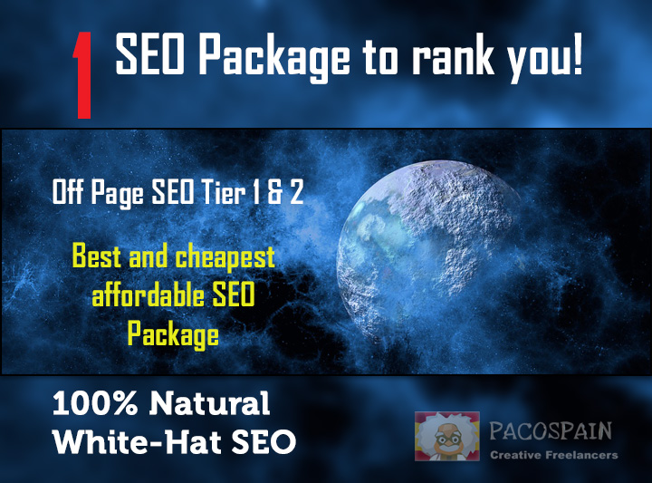 rank you with 1 SEO Package
