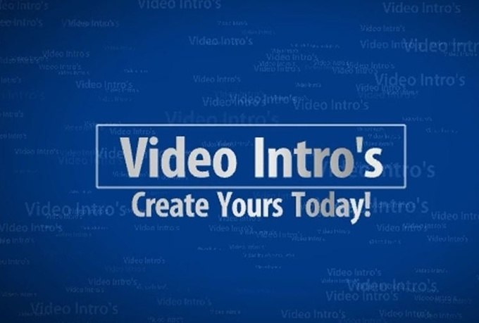 create amazing video intros