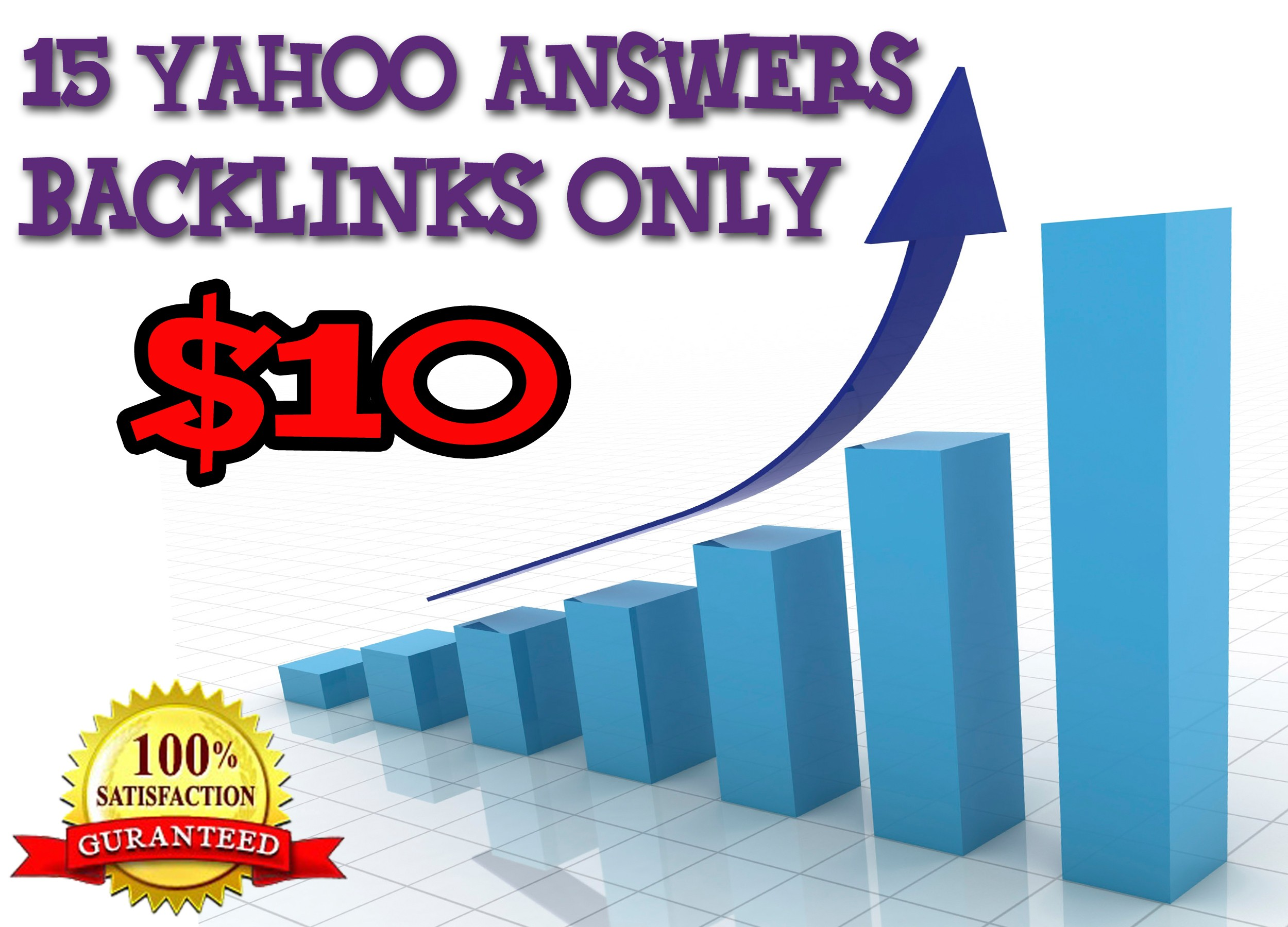 Promote your website in 15 Yahoo Answers and Get targeted high quality traffic