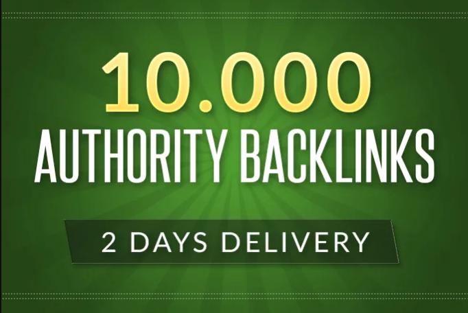 I m build 10,000 authority backlinks for Google Ranking