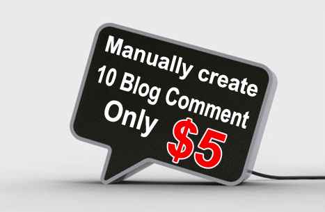 Get high quality 10 blog comments for your web site for