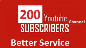 Get 201+ You Tube channel subscribes