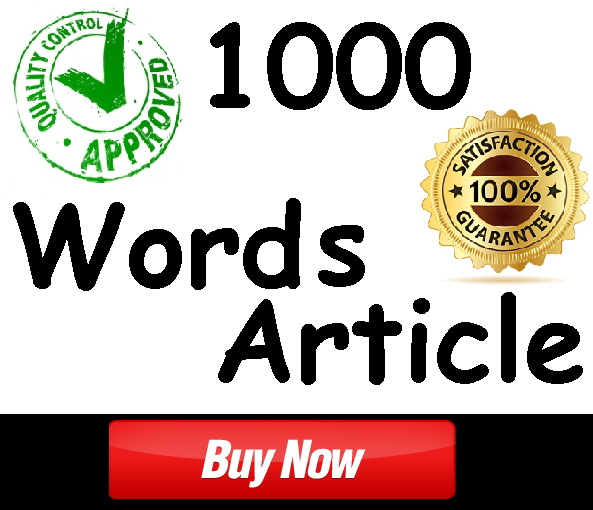 SEO Optimised 1000 Words Health Niche Article Writing