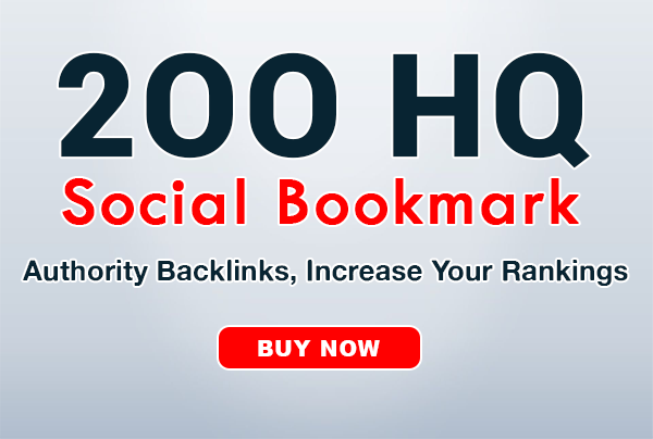 200+ social bookmarks to your site within 1 day
