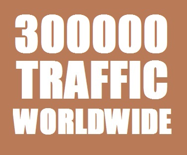 300000 Web Traffic Worldwide for 20 days