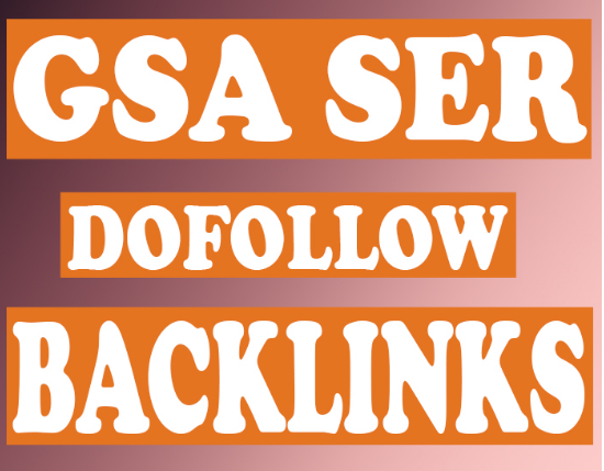 200,000 GSA Seo Verified BACKLINKS 1st page on Google Blast