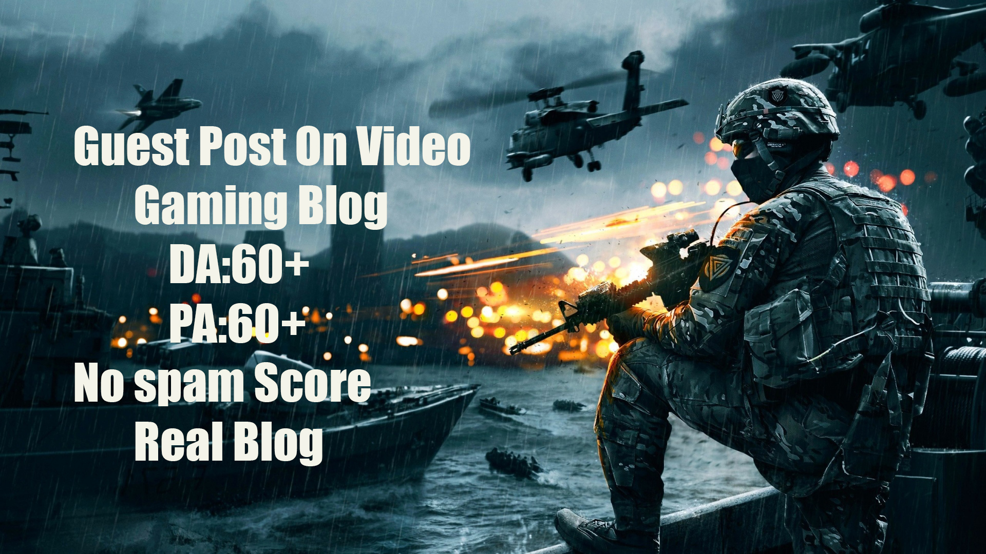 Guest Post on HQ Video Gaming Blog of DA:60+