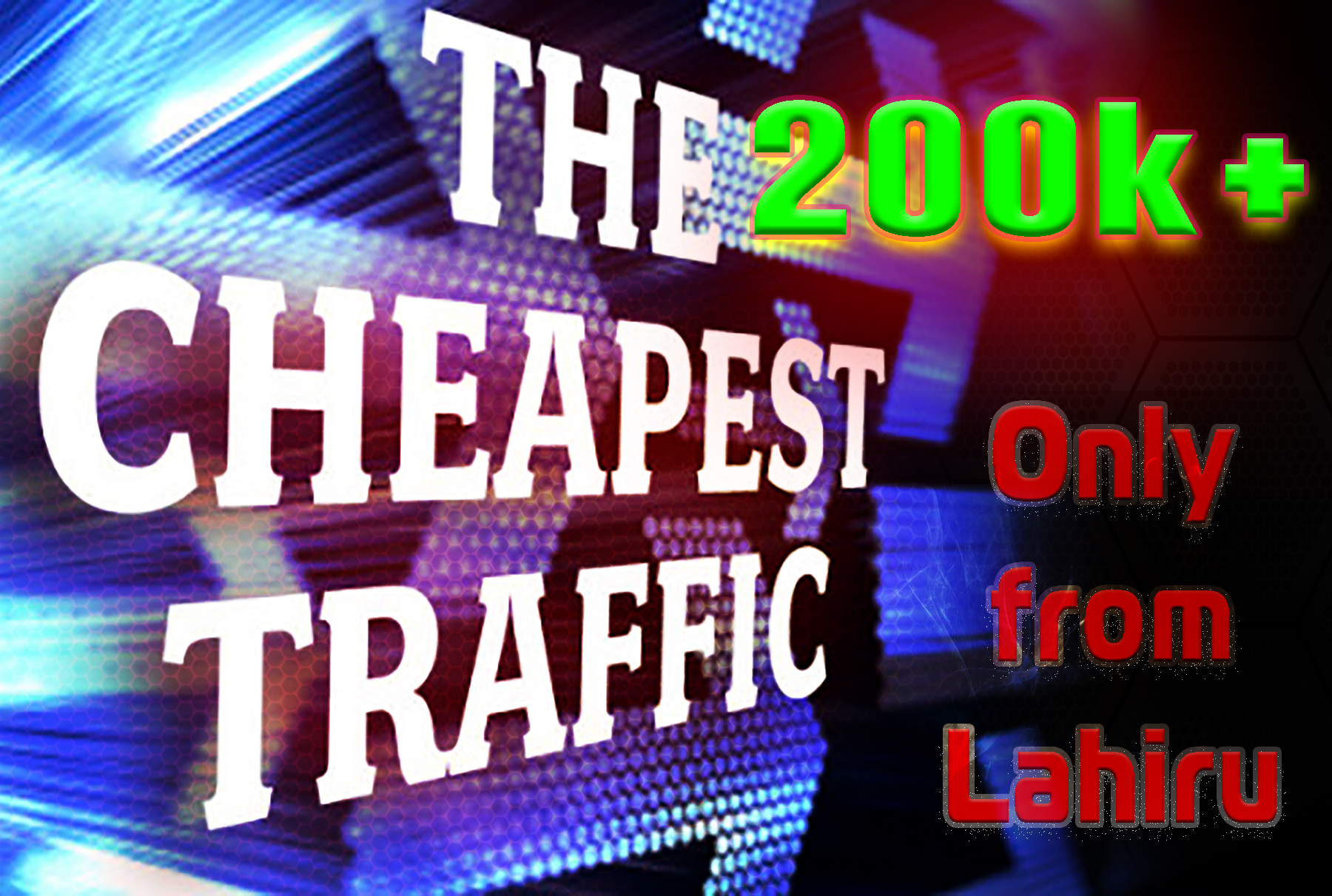 Send 200000+ Human Traffic by Google Twitter Bing Youtube etc
