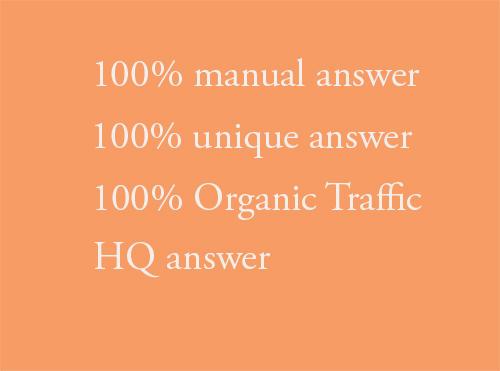 Unique 10 Quora answers posting
