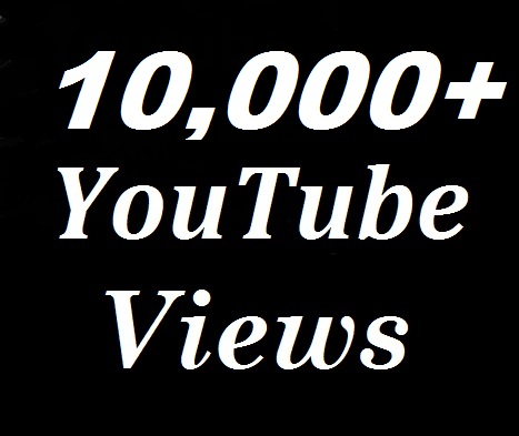 10000+ Youtube views +200 likes + 20 custom comment non-drop And safe