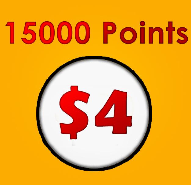 Ready account 15000/15k Like4like points