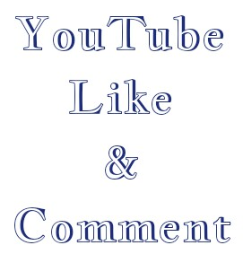 30+ YouTube  custom comment and 30+ like very fast
