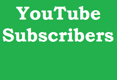 Buy 101+ YouTube Subscribers from USA, France And English