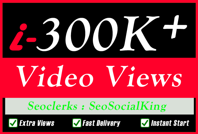 10,000 World Wide Video Promotion Social media Marketing