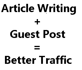 Quality Article Writing and Guest Post
