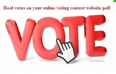 give you 150 genuine votes to your entry to any website contest